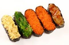 Sushi set isolated Royalty Free Stock Image