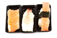 The sushi set Royalty Free Stock Photo