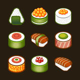 Sushi set - japan cousine Stock Images