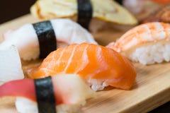 Sushi set, Japanese food Stock Images