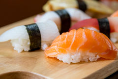 Sushi set, Japanese food Stock Images