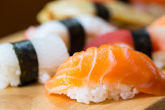 Sushi set, Japanese food Stock Image