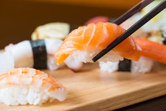 Sushi set, Japanese food Stock Photography