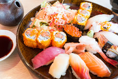 Sushi Set Stock Images