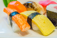 Sushi. Set for one people Stock Photo
