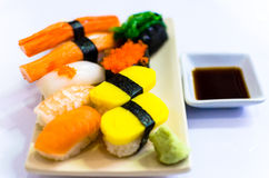 Sushi set Stock Image