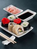 Sushi set Royalty Free Stock Image