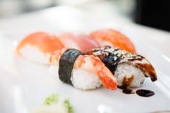 Different sushi set Stock Image