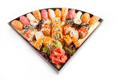 Sushi Set takudzho Royalty Free Stock Image