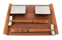 Sushi set for two Royalty Free Stock Photography