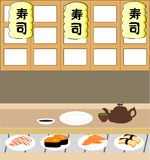 Sushi shop Royalty Free Stock Photos