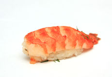 Sushi with the shrimp Royalty Free Stock Photography