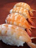 Sushi Shrimp  Stock Photo