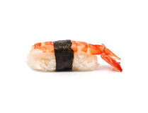 Sushi with Shrimp Royalty Free Stock Photography