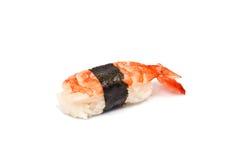 Sushi with Shrimp Royalty Free Stock Photography