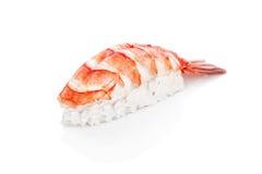 Sushi with shrimp, rice Stock Image