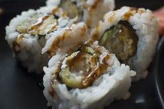 Sushi Shrimp Tempura Stock Image