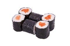 Sushi sjake maki. Isolated on a white background Royalty Free Stock Images