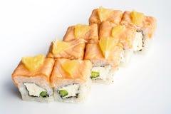 Sushi stekt ananas Fotografering för Bildbyråer