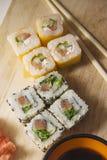 Sushi stellten 2 ein stockfotografie
