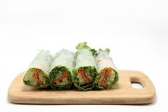 Sushi Surprise Platter. Sushi and California rolls on a platter Stock Photo