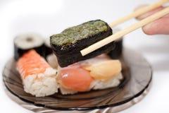 Sushi-Sushi Stockfoto