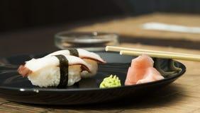 Sushi in sushi bar Stock Images