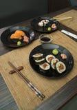 Sushi in sushi bar Stock Photos