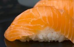 Sushi in sushi bar Royalty Free Stock Images