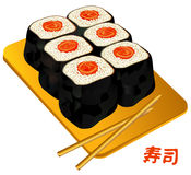 Sushi, susi, roll, food China Royalty Free Stock Photo