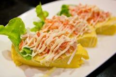 Sushi sweet egg Royalty Free Stock Photos