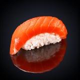 Sushi Syake Philadelphia with salmon Royalty Free Stock Photography