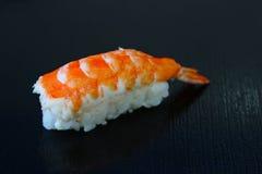 Sushi  on table black background Stock Photo