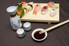 Sushi table Royalty Free Stock Image