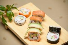 Sushi table Stock Photos