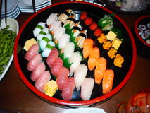 Sushi TAKAKO stockfoto