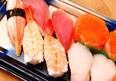 Sushi take away Royalty Free Stock Photography