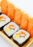 Sushi take away Stock Images