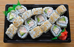 Sushi take out Stock Images