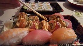 Sushi Take-out Royalty Free Stock Photos