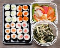 Sushi takeaway Stock Photography