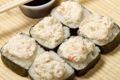 Sushi Tampico Maki Royalty Free Stock Photography