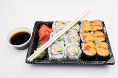 Sushi tar ut Arkivfoton