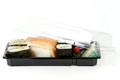 Sushi to go Royalty Free Stock Photos
