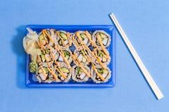 Sushi to go Stock Photo