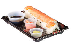 Sushi to go Stock Photography