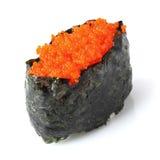 Sushi tobiko Stock Image