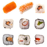 Sushi top collection Stock Image