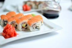 Sushi Toyama Royaltyfri Foto