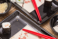 Sushi / traditional Japan food Royalty Free Stock Photos